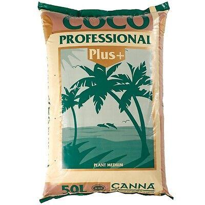 Canna Coco Professional Plus 50L Kokossubstrat Kokosfaser Cocofaser +Düngeschema