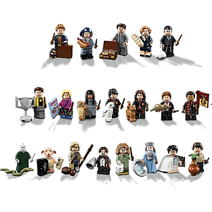 Lego Harry krukmakare Fantastic Beasts Series Minifigurer 71022