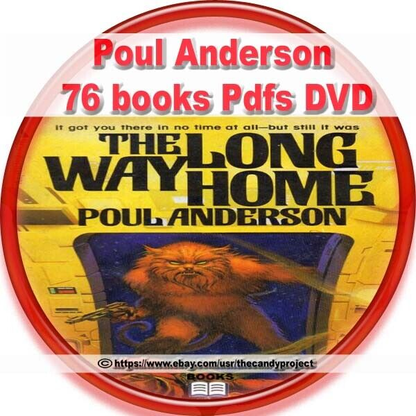 76 pdfs Poul Anderson most prolific - popular writers Great Science Fiction DVD