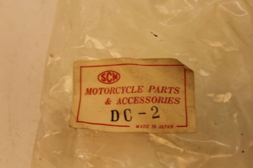 Set of 2 New Old Stock SCM DC-2 Motorcycle Fork Dust Cover Boots