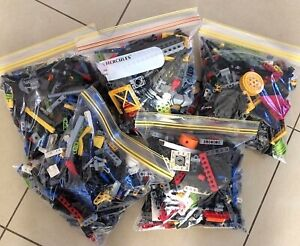 0-5KG-x425pc-039-s-LEGO-TECHNIC-BUILDING-PACKS-100-TECHNICS-LEGO