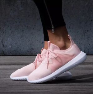 the latest 25299 0614c Details about adidas Originals Tubular Viral 2.0 BY2122 women athletic  shoes Ice Pink /white
