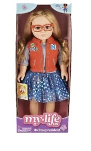 My-Life-As-18-034-Class-President-Poseable-Doll-Blonde-Hair-VHTF-Sold-Out