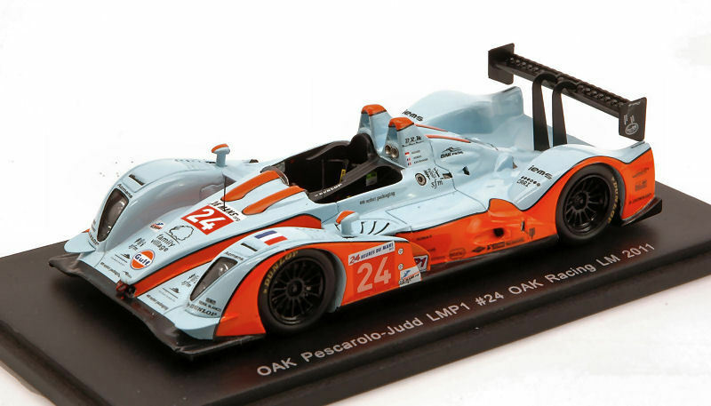 Oak Pescarolo/Judd  24 LM 2011 1:43 MODEL s2524 SPARK MODEL