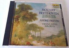MOZART BEETHOVEN PREVIN PIANO & WIND QUINTETS (CD 80114 TELARC JAPAN) NO UPC