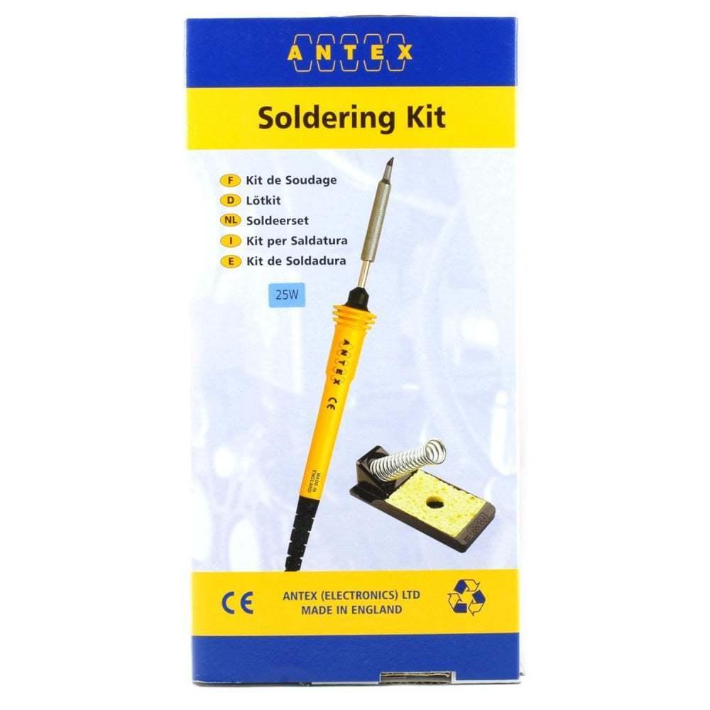 Antex SK9 Starter Kit 25W Soldering Iron + ST4 Stand & Solder