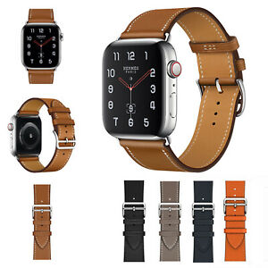 38-42mm-40-44mm-Genuine-Leather-Apple-Watch-Band-Strap-For-iWatch-Series-4-3-2-1