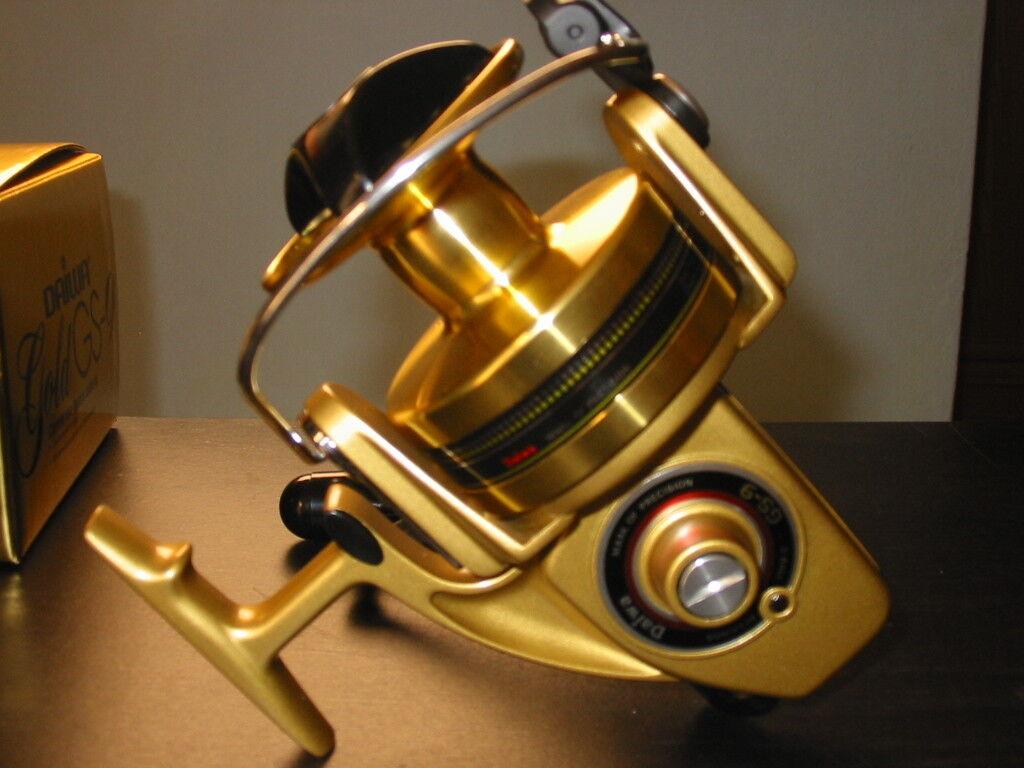oro GS-9 Daiwa Spinning Reel de Pesca (100% Nuevo Caja Original con Instrucciones)
