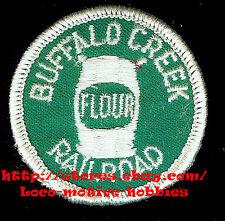 "BUFFALO CREEK FLOUR  RAILROAD PATCH 2 /"" *"