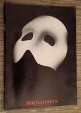 Theatre Programme THE PHANTOM OF THE OPERA - DAVE WILLETS CLAIRE MOORE M CORMICK
