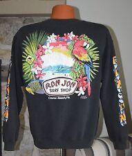 Vintage 80s Ron Jon surf shop sweatshirt Med Lrg skateboard surfboard shirt 1989