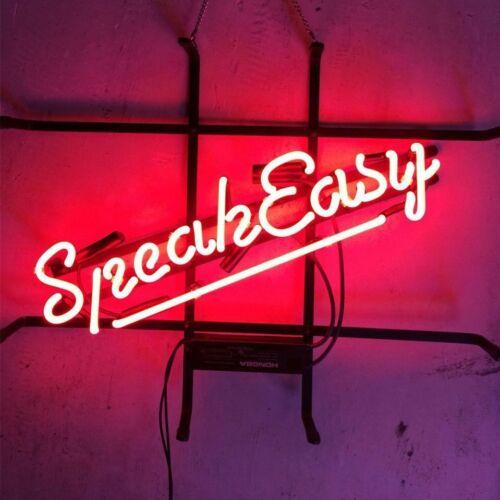 "17/""x14/""SpeakEasy Cafe Neon Sign Light Beer Bar Pub Wall Display Handcraft Art"