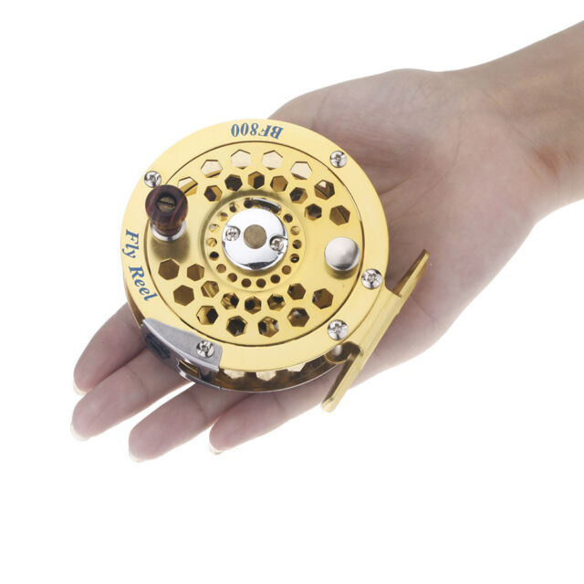 Fly Fishing Reel Former Ice Fishing Vessel Wheel BF800A 0.5mm/300m 1:1 Outdoor