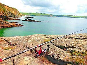 3M-TRAVEL-FISHING-ROD-amp-REEL-SET-inc-LINE-Pike-Carp-Chub-Zander-Perch