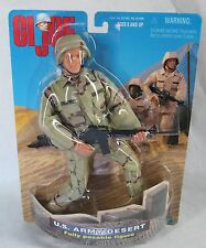 "GI Joe US Army Desert Posable Figure 12"" Hasbro 1998 Sealed"