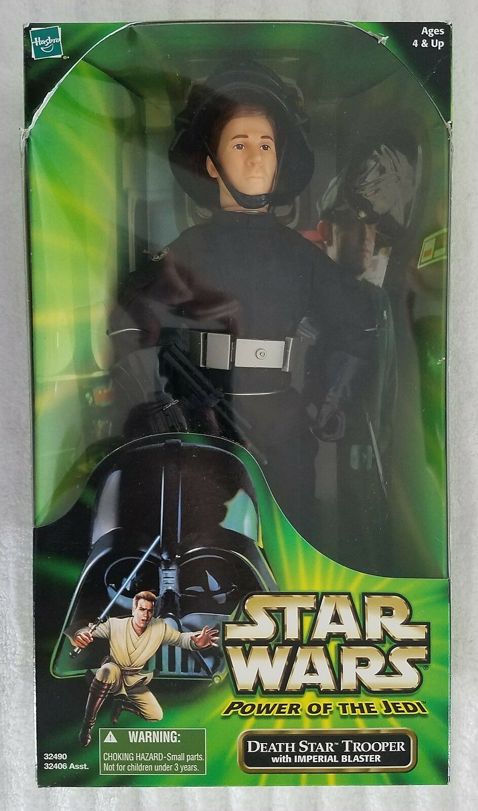 STAR WARS POWER OF THE JEDI DEATH STAR TROOPER 12 INCH ACTION FIGURE