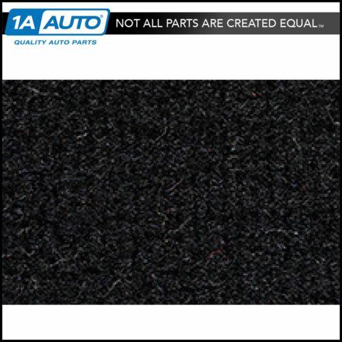 for 1980-83 Honda Civic 2 Door Hatchback Cutpile 801-Black Passenger Area Carpet