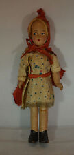Little Red Riding Hood Composition Doll with Original Clothing - Vintage