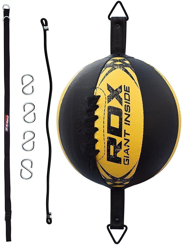 RDX MMA Palla Veloce Boxe Double End Pugilato Thai Pugilato End Allenamento Arti Malziali IT 4b948a
