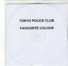 (CA707) Tokyo Police Club, Favourite Colour - 2010 DJ CD