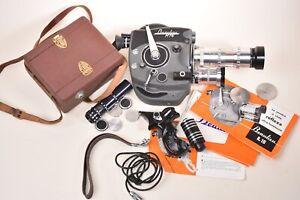 Caméra cinema Beaulieu R16 et accessoires.
