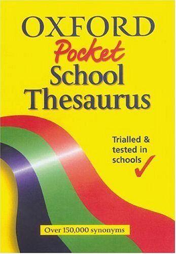 1 of 1 - OXFORD POCKET SCHOOL THESAURUS,Hachette Children's Books