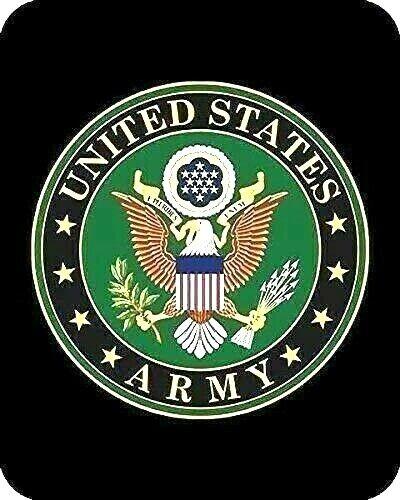 "U.S. Army Blanket Fleece Throw 50"" by 60"" Badge Of Honor Blanket Soft NWT"