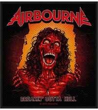 AIRBOURNE - Breakin' outta hell Aufnäher Patch 10x10cm