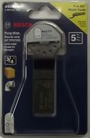 Bosch Osc34-5 3/4 Hcs Plunge Cut Blade For Multi Tool (5pack)