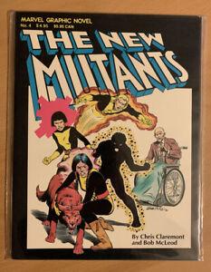 MARVEL NEW MUTANTS graphic novel #4 1st appearance 5th print VF/NM