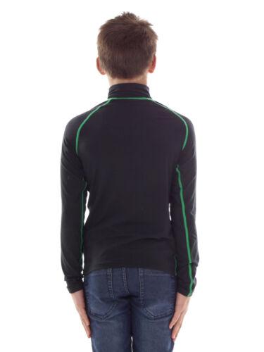 CMP Sweatshirt Funktionsoberteil schwarz Kragen Stretch Softech Zip