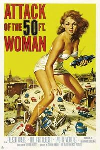 Attack-of-the-50-FT-Woman-POSTER-61x91cm-NEW-Allison-Hayes-cult-film-poster