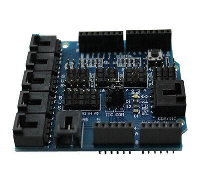 1Pcs Sensor Shield V4 Digital Analog Module UNO Duemilanove for Arduino Servo