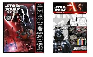 Official-Disney-Star-Wars-Busy-Pack-amp-Colouring-Set-NEW
