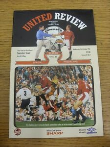 23-10-1996-Manchester-United-v-Swindon-Town-Football-League-Cup-Thanks-for-v