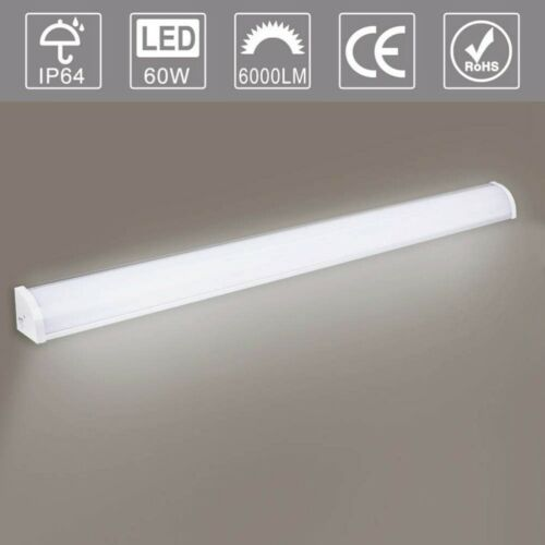 60-120cm LED Feuchtraumleuchte Feuchtraumlampe Wannenleuchte Röhre Tube IP65