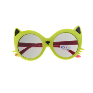 Girl Boy 5Color Cartoon Cat Anti UV400 Eyeglasses Toddler Baby Sunglasses CS/_T