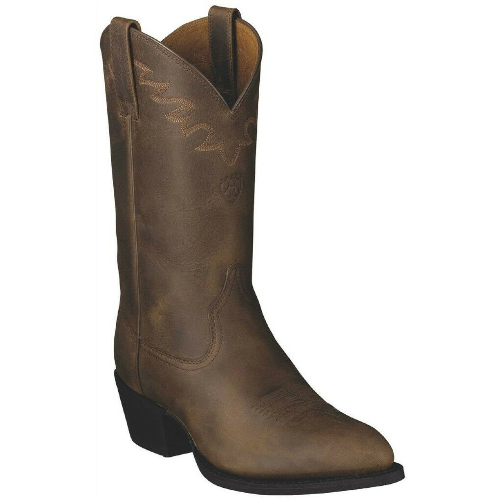 Ariat Men's Sedona New West Collection Distressed Brown Western Boot 10002194