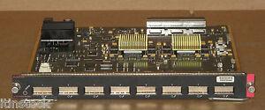Bien éDuqué Cisco Ws-x6408a - Gbic 8-port Gigabit Ethernet Modules Card 73-4364-04-afficher Le Titre D'origine