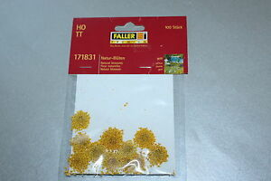 FALLER-171831-nature-fleurs-jaune-piste-h0-OVP