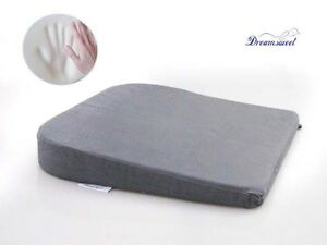Image Is Loading Memory Foam Seat Wedge Cushion Office Home Chair