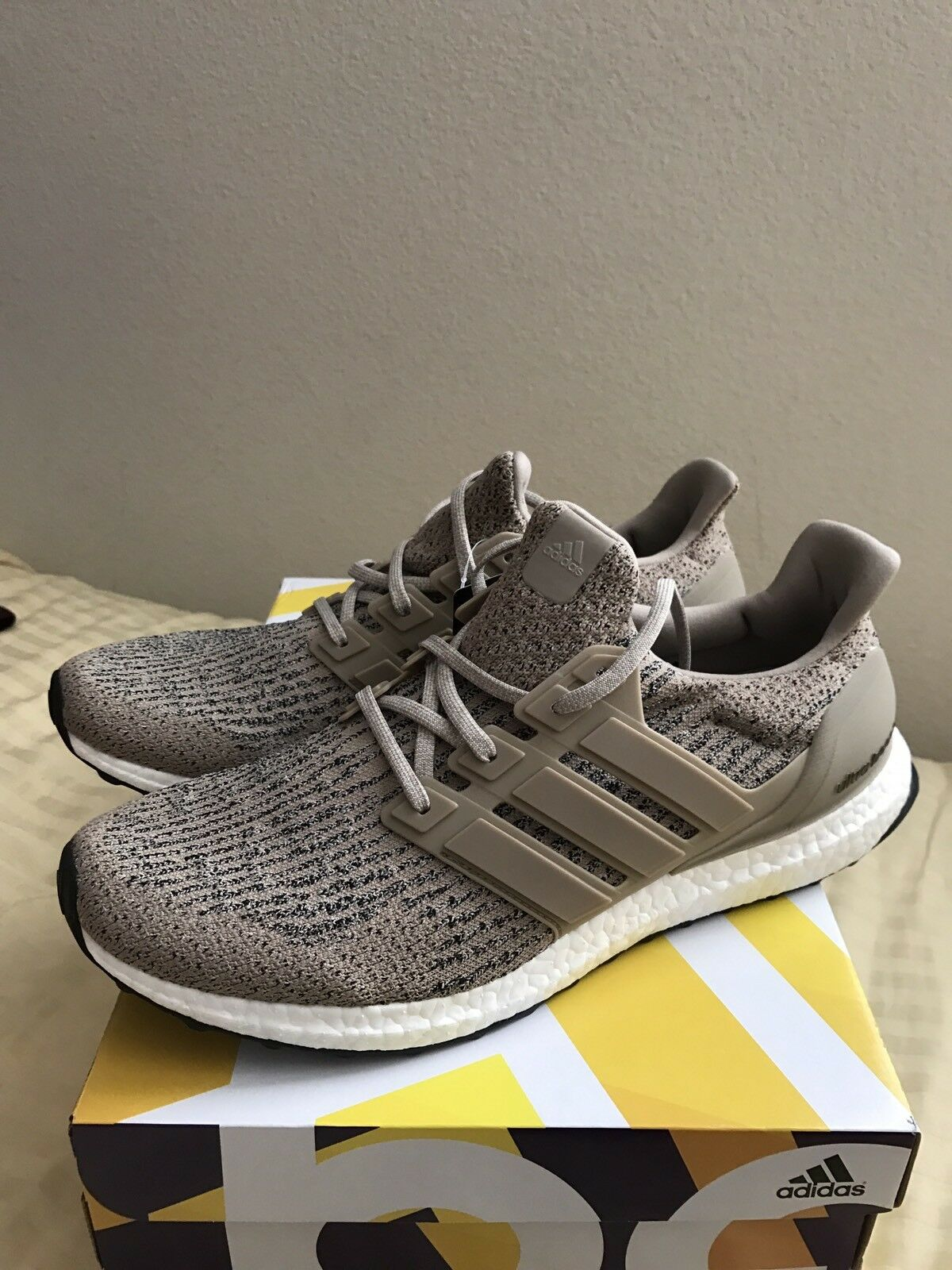 2018 Adidas ultra Boost 3.0 Trace es Khaki tan cg3039 hombres es Trace comodo e80bf9
