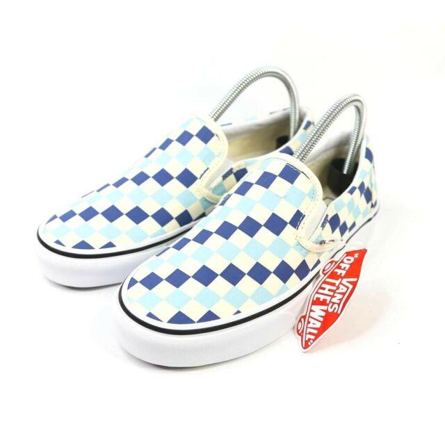 Vans Slip-On Checkerboard Blue Topaz
