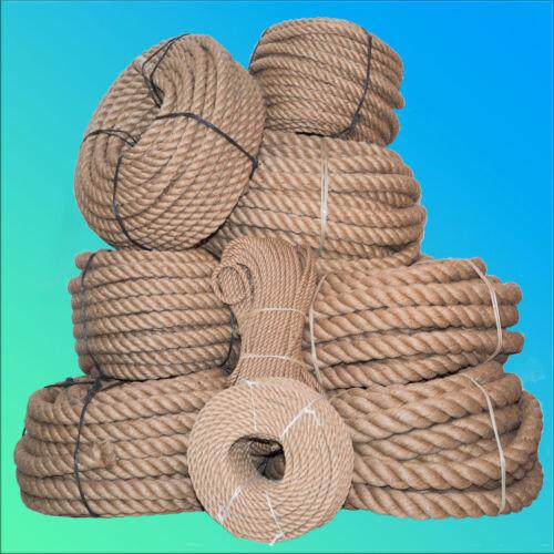 Corde de jute 30mm//20m le chanvre corde corde nature ungefärbt corde corde