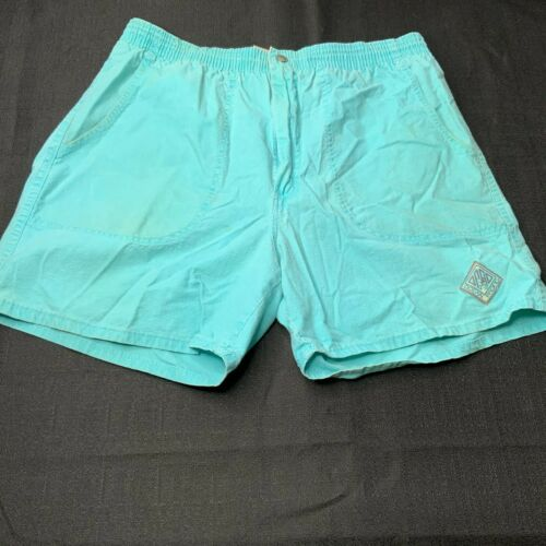 Vintage Ocean Pacific Mens Shorts Size Large Teal