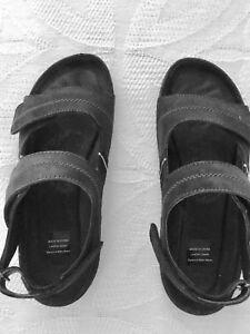 a4033155725a99 Image is loading Drew-Dora-Barefoot-Freedom-size-7-ww-black