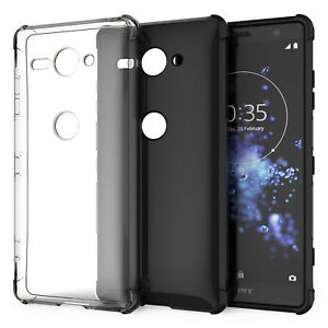 Coque-Gel-Silicone-TPU-Sony-Xperia-XZ2-Compact-Etui-Housse-Protection-Robuste