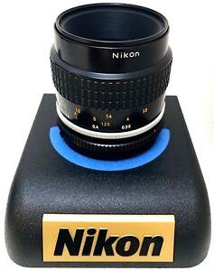 Hervorragende-Nikon-AI-S-Micro-Nikkor-55mm-f-2-8-Kamera-Prime-Objektiv-Manueller-Fokus