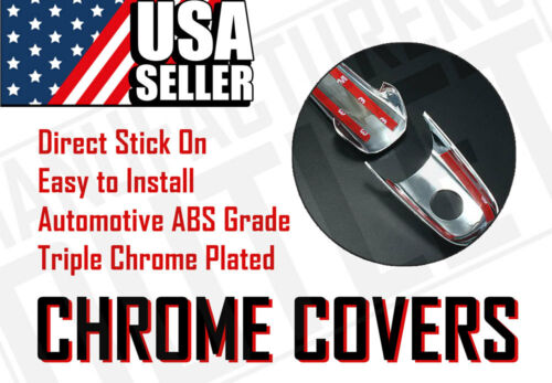 2002-2006 Chevrolet Avanlanche Suburban Tahoe 4dr Chrome Door Handle Cover Trim