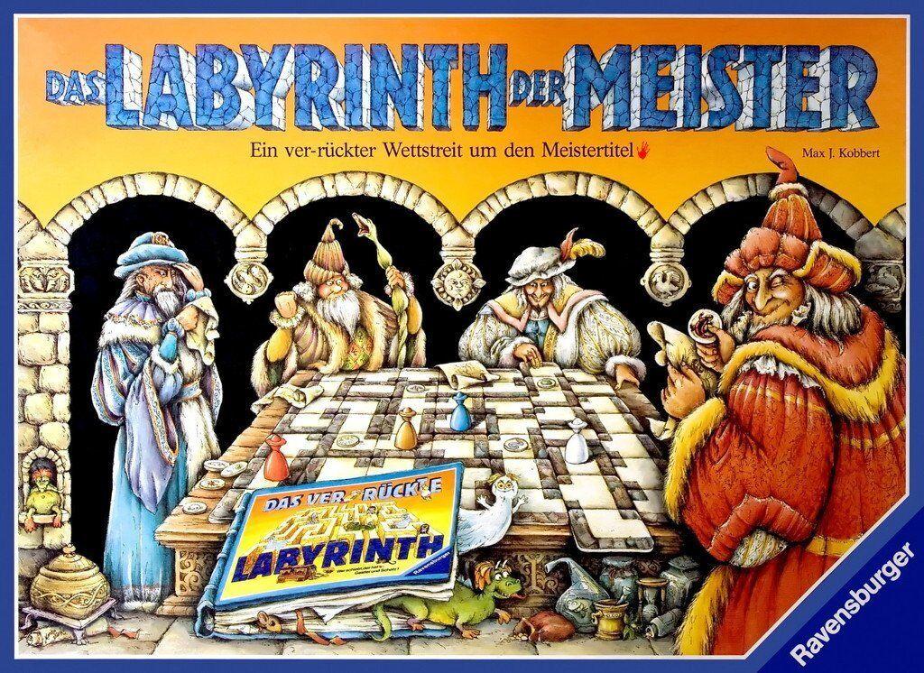 Le labyrinthe des maître de Ravensburger Neuf et encore scellé.
